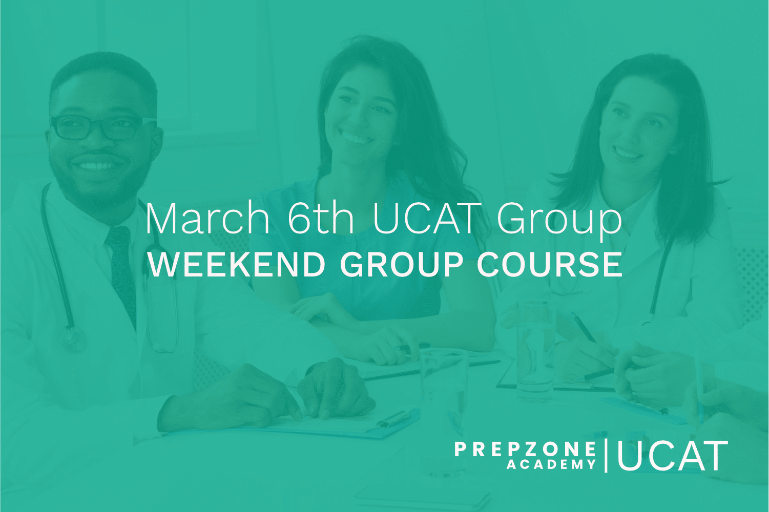 UCAT Weekend Group Course Schedule – March 6th, 2021