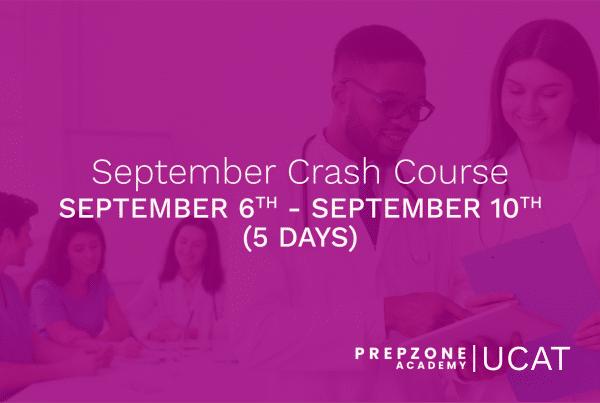 UCAT September Crash Course | Prep Zone Academy